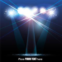دانلود وکتور پس زمینه با پرتو نوری روشن
