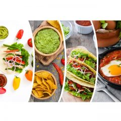 دانلود تصاویر استوک سبزیجات و غذای گرم رستوران