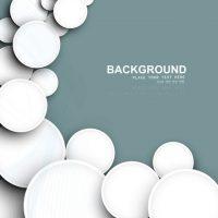 دانلود وکتور دایره های سفید فانتزی با طرح جالب خاص