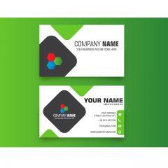 دانلود وکتور کارت ویزیت شخصی با جای لوگو مخصوص