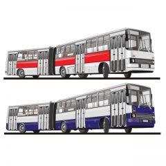 دانلود وکتور اتوبوس های شهری بزرگ و خاص