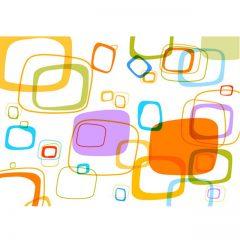 دانلود وکتور مربع های فانتزی تو پر و تو خالی رنگی
