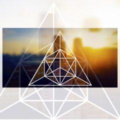 دانلود آموزش فتوشاپ طراحی قاب هندسی برای عکس
