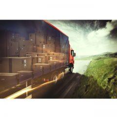 دانلود تصاویر استوک کامیون بزرگ مضمون حمل و نقل