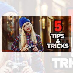 دانلود آموزش فتوشاپ 5 ترفند خاص روتوش عکس