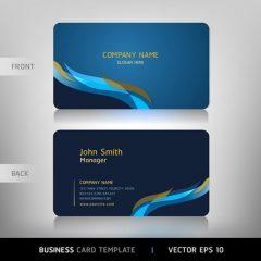 دانلود طرح لایه باز کارت ویزیت ابی خاص