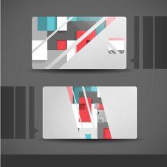 دانلود کارت ویزیت لایه باز شخصی گرافیکی