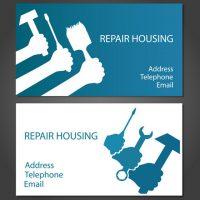 دانلود کارت ویزیت اماده تعمیرات خانگی