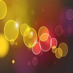 پس زمینه جذاب با طرح حباب های نور