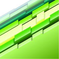دانلود تصویر پس زمینه با طرح سه بعدی سبز