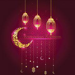 دانلود پوستر طرح وکتور ماه مبارک رمضان