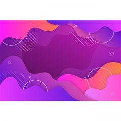 دانلود وکتور لایه باز پس زمینه ابسترکت رنگی طرح آبرنگی