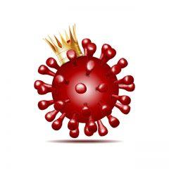 طرح وکتور کرونا ویروس و طراحی سلولی ویروس