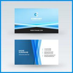 وکتور کارت ویزیت خارجی با طراحی منحصر به فرد