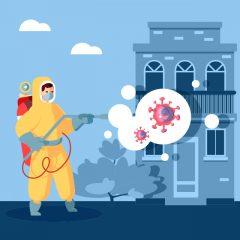 ویروس کرونا با طراحی ضد عفونی کردن محیط خیابان