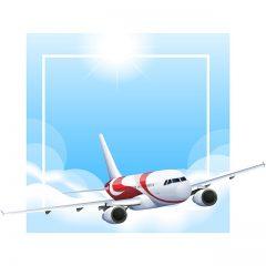 دانلود مجموعه وکتور هواپیمای مسافربری به صورت لایه باز با فرمت EPS
