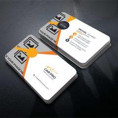 دانلود لایه باز کارت ویزیت تجاری با رنگ روشن
