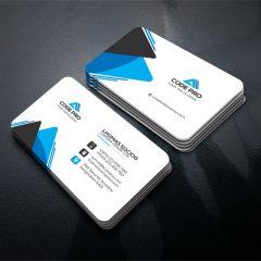 دانلود تصاویر لایه باز کارت ویزیت شرکتی 4 رنگ