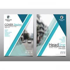 دانلود طرح جلد بروشور و کاتالوگ تبلیغاتی بصورت وکتور
