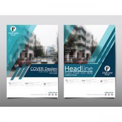 فایل وکتور لایه باز بروشور و کاتالوگ تجاری 2020