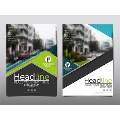 دانلود طرح گرافیکی بروشور و کاتالوگ آماده وکتور شرکتی