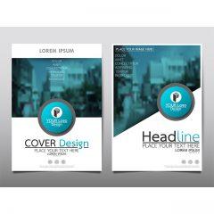 دانلود وکتور لایه باز کاتالوگ و بروشور شرکتی با طراحی شیک