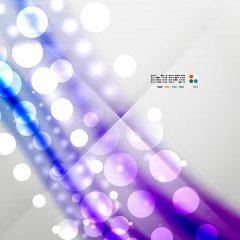 دانلود پس زمینه وکتور ابسترکت رنگ روشن حبابی