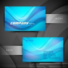 دانلود تصویر وکتور لایه باز کارت ویزیت تجاری