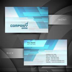 دانلود وکتور گرافیکی کارت ویزیت لایه باز فونت و طرح خاص