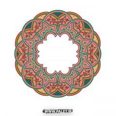 دانلود نمونه تصاویر تذهیب قاب و حاشیه سنتی – شماره 30