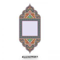 دانلود تصاویر تذهیب قاب و حاشیه سنتی – شماره 46