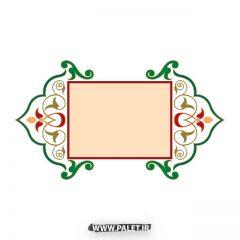 دانلود طرح اسلیمی و تذهیب وکتور برای طراحی سنتی ایرانی