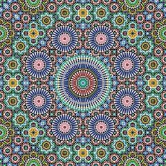 مجموعه بکگراند طرح دار رنگی تذهیب و اسلیمی