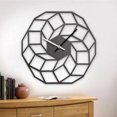 دانلود طرح 3 بعدی ساعت دیواری مکعب