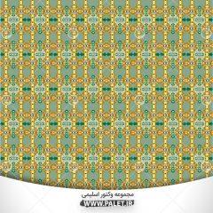 تصاویر لایه باز طرح و نقش های تزئینی اسلیمی