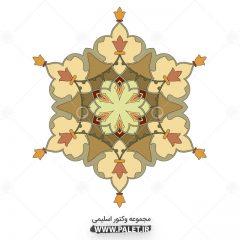 دانلود مجموعه اسلیمی با طرح خورشیدی زیبا