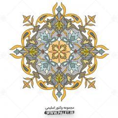 دانلود طرح اسلیمی حاشیه گل سنتی