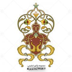 دانلود طرح اسلیمی گل سنتی - Eslimi Art 52