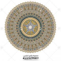 دانلود مجموعه شمسه طرح اسلیمی و هنر اسلامی