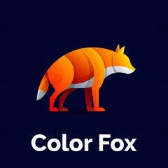 دانلود طرح وکتور لوگوی روباه