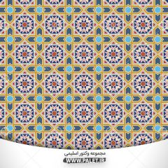 لایه باز مذهبی و سنتی اسلیمی طرح پترن