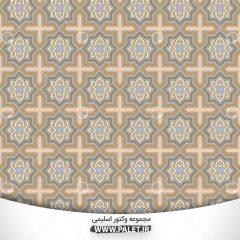 وکتور اسلیمی با رنگبندی و طراحی خاص