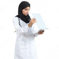 تصویر استاک خانم مخصوص طرح های اموزش پزشکی