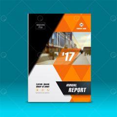 دانلود وکتور کاتالوگ مخصوص گزارش سالانه