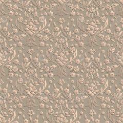 وکتور پترن بدون درز هندسی طرح گل زمینه قهوه ای