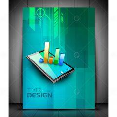 دانلود وکتور بروشور طرح 3بعدی طراحی بسیار خاص