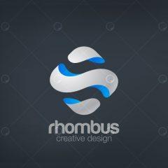دانلود لوگوی خلاقانه شرکتی تجاری با طراحی مدرن