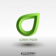 مجموعه لوگوهای آماده رنگ سبز طرح مدرن و جدید