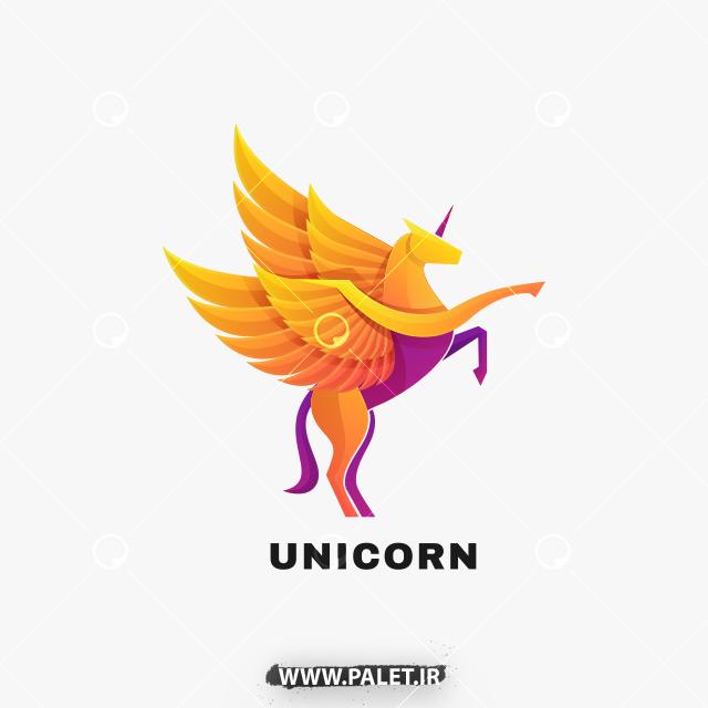 دانلود لوگو وکتور اسب تک شاخ – Logo Unicorn