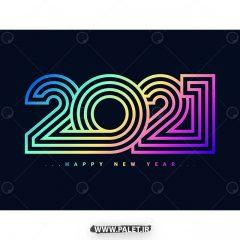 مجموعه طرح وکتور سال 2021